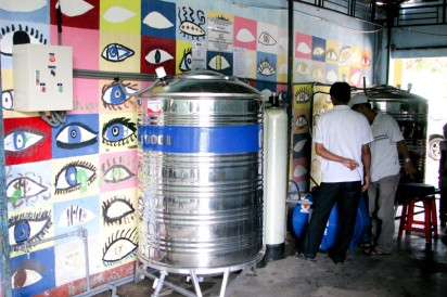 Clean water system for Vinh Son 2