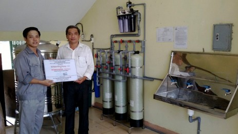 Clean water system for Quang Trung Middle School