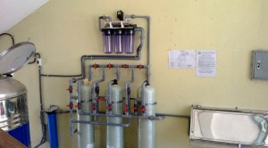 Clean water system for Huong Duong Kindergarten