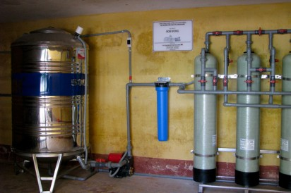 Clean water system for Hoa Tien Kindergarten