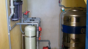 Clean water system for Hoa Tien Elementary