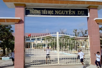Clean water system for Nguyen Du Elementary