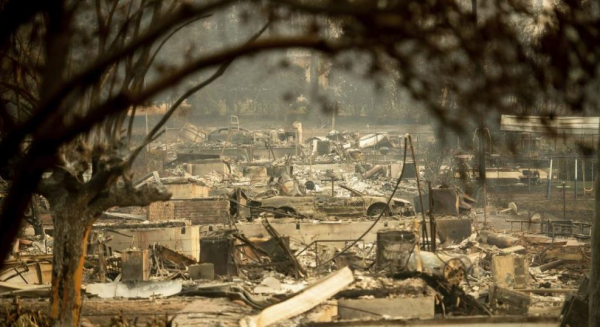 Aid for California wildfire victims