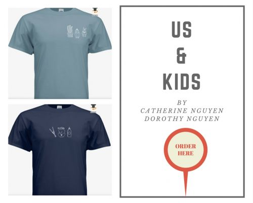 US & Kids T-shirt campaign