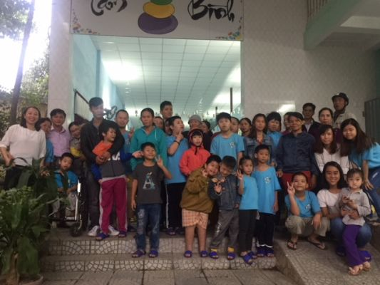 Center for children with disabilities Tam Binh