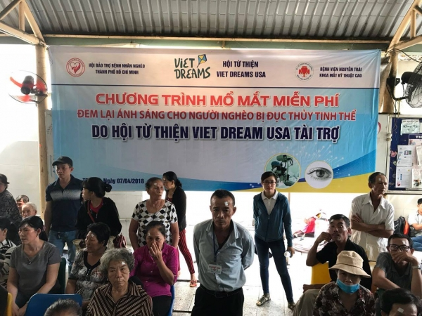 Viet Dreams free eye cataract surgeries 04-2018