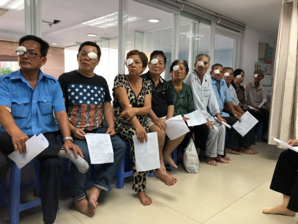 Free eye cataract surgeries 01-2019