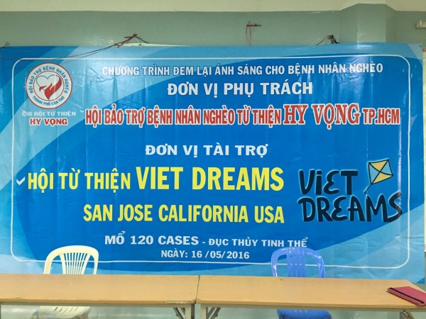 Viet Dreams free eye cateract surgeries 05-2016