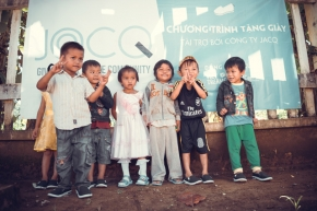 Shoe giving campaign 09-2015