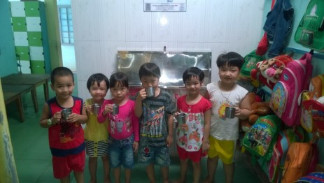 Past project : Clean water system for Duy Hoa Kindergarten (DONE)