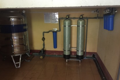 Clean water systems for less fortunate students in Vietnam 2