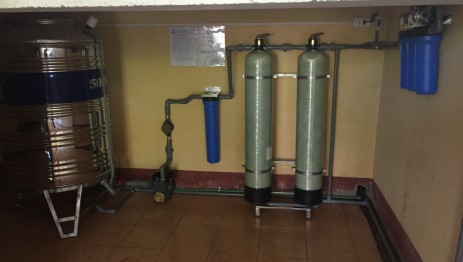Clean water systems for less fortunate students in Vietnam